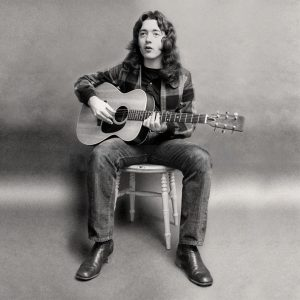 Rory Gallagher  Photo by Barrie Wentzell